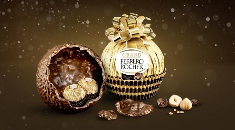 gran surtido calidad estable que buen look Ferrero Rocher lança ovo de páscoa em versão gigante do ...